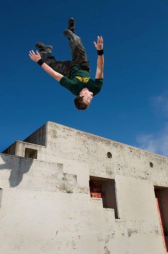 تصاویر اکشن و بسیار جذاب از ورزش پارکور