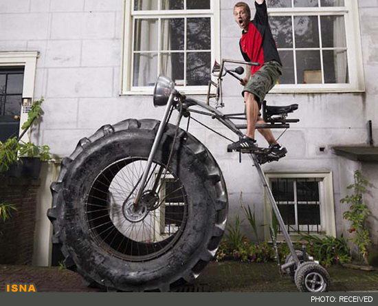 سنگینترین دوچرخه جهان گینسی شد+عکس