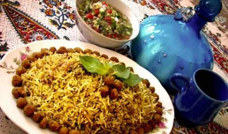 یلدا با حافظ و کلمپلوی شیرازی