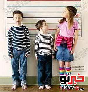 چگونه قد فرزندمان بلند شود