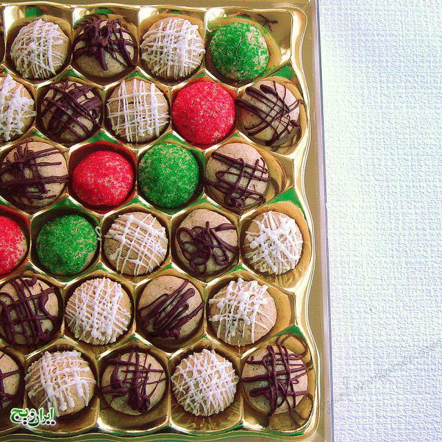 شکلات گردویی  3