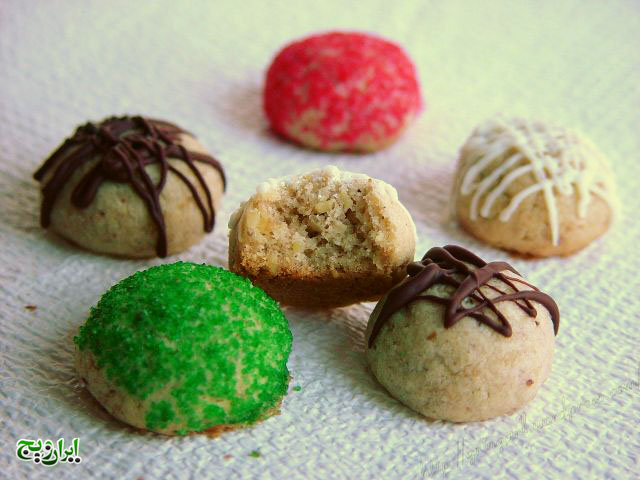 شکلات گردویی  13