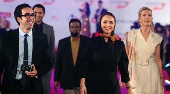 ترانه علیدوستی و همسرش در جشنواره ویتنام