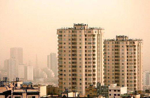 افزایش ۳۰ درصدی آلودگی هوای تهران