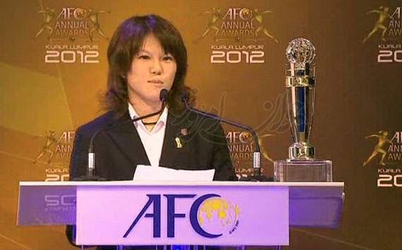 عکس: بهترین فوتبالیست دختر آسیا
