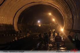 پایان عملیات سازهای تونل امیرکبیر تا پایان هفته جاری