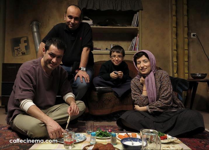 """گریم متفاوت شهاب حسینی و نگار جواهریان: پایان فیلمبرداری «حوض نقاشی» / اولین عکس از تازهترین فیلم مازیار میری را در """"کافه سینما"""" ببینید"""