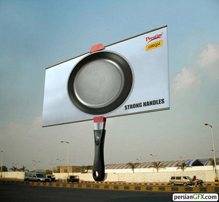 نمونه هایی از تبلیغات جالب محیطی