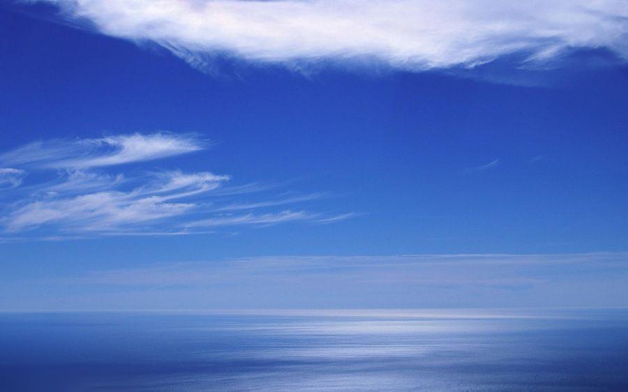 تصاویر طبیعت و آسمان آبی