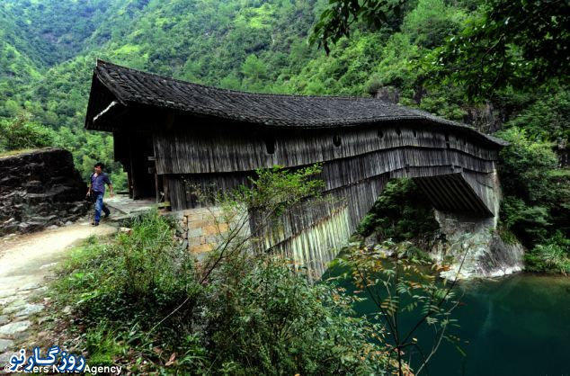 پل هزار ساله در چین+ تصاویر
