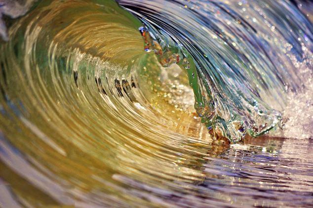 تصاویری از موج های دیدنی و جذاب
