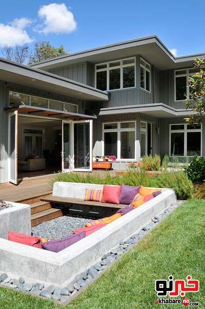 فضاسازی حیاط، باغ و باغچه