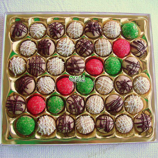 شکلات گردویی 2