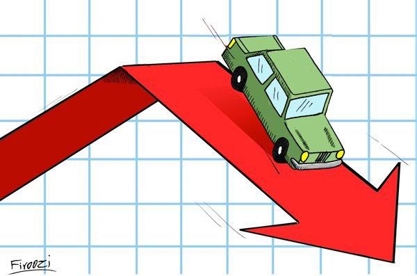 قیمت خودرو کاهش یافت/افت ۶تا ۲۲میلیون تومانی مدلهای خارجی