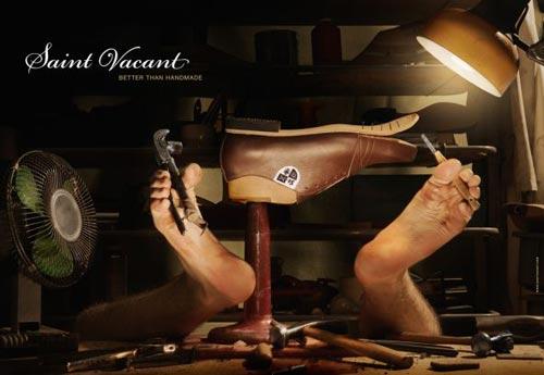 تبلیغات غیر معمول اما خلاقانه برندهای کفش