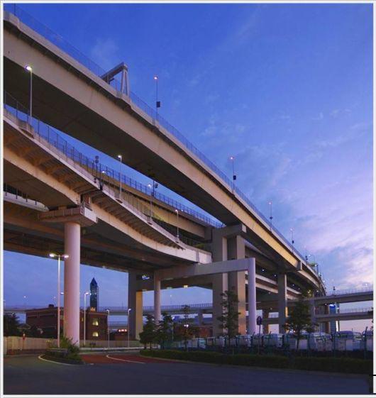 تصاویر جاده های زیبا و مدرن ژاپن
