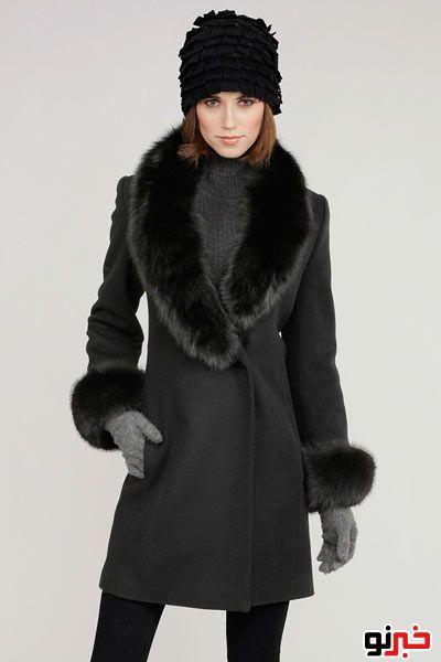 پالتو و کلاه زمستانی زنانه ۲۰۱۳