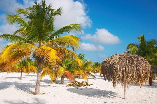 تصاویر زیبا از سواحل شنی سفید کوبا