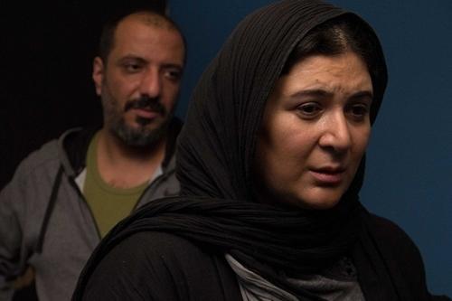 عکس امیر جعفری و همسرش در فیلم هومن سیدی