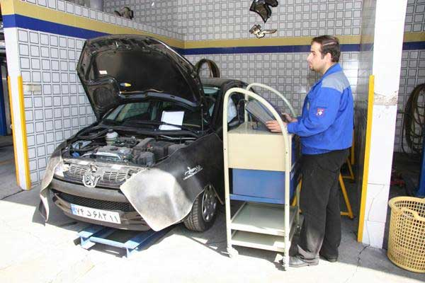 افزایش ظرفیت پذیرش خودروها در مراکز معاینه فنی