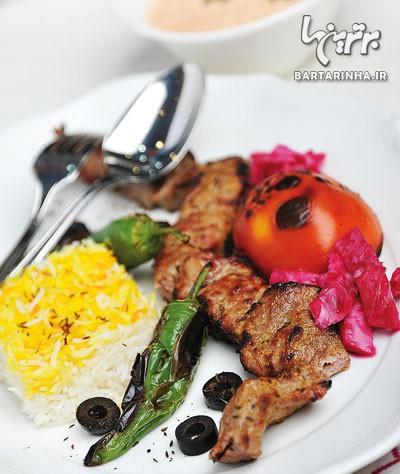 کباب چنجه عربی