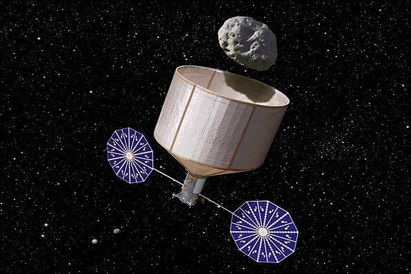 یدک کشیدن یک سیارک به مدار ماه تا سال ۲۰۲۵