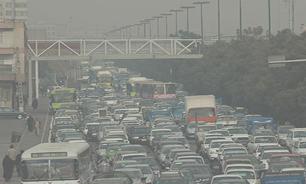 افزایش آلودگی هوا در ساعات آینده / منطقه ۱۸ همچنان آلوده ترین منطقه