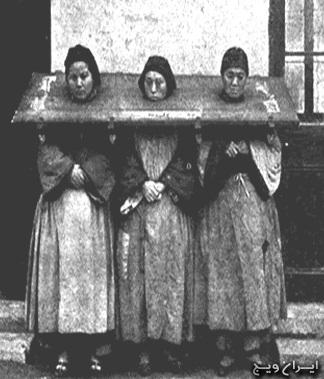قدیمی ترین تصویر از لحظه اعدام سه زن
