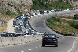 ممنوعیت تردد در محورهای هراز و فیروزکوه