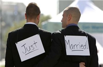 آغاز ازدواج همجنس بازان در آمریکا