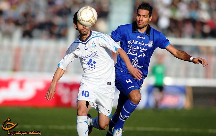 گزارش تصویری دیدار تیم های فوتبال استقلال تهران و ملوان بندر انزلی