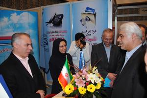 بازدید بهمنی از غرفه بانک ملی ایران