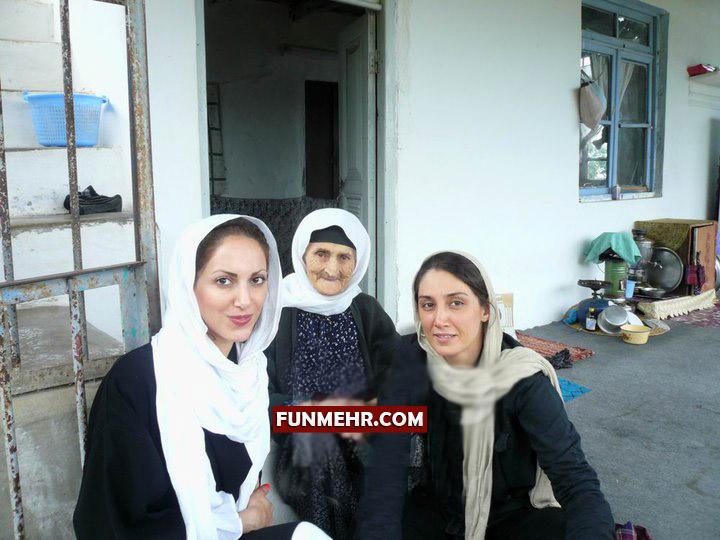 عکسی متفاوت از هدیه تهرانی در شمال کشور