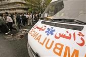 ۴۵ آمبولانس در خیابان آزادی مستقر میشوند