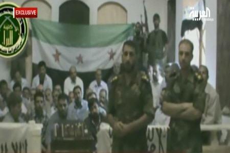 تصویر زائران ربوده شده ایرانی در سوریه