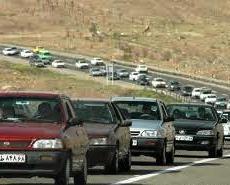 ترافیک سنگین در محورهای خراسان رضوی، چالوس و قزوین – رشت