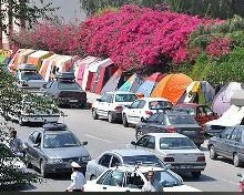 مدیریت ترافیک در ورودی و خروجیهای تهران