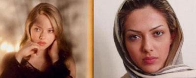 شباهت عجیب بازیگران ایرانی با بازیگران خارجی