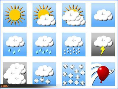 هوای سفر، روز سوم نوروز بارانی و گرم است، اما منتظر هوای سرد باشید