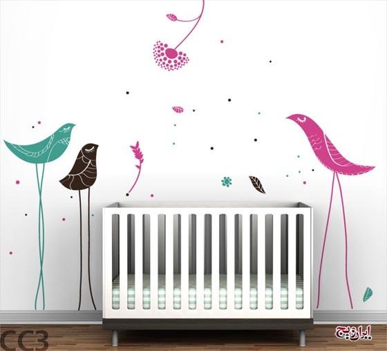 کاغذ دیواری های کودکانه مخصوص اتاق کودک