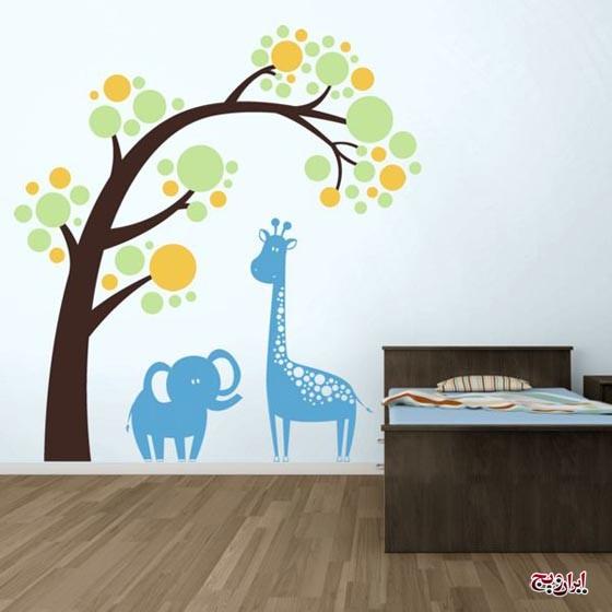 کاغذ دیواری های زیبا و کودکانه مخصوص اتاق فرزند دلبند شما
