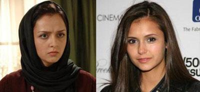 73uyihy0umlf0y0snqb41 شباهت عجیب بازیگران ایرانی با بازیگران خارجی + عکس