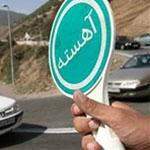 خودرو بی ام و با سرعت ۱۸۰ کیلو متر در زنجان توقیف شد