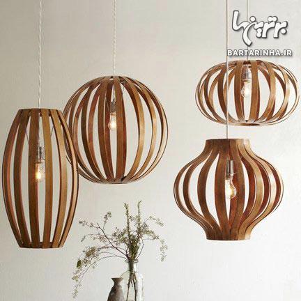 لمس طبیعت: استفاده از لوازم خانگی چوبی