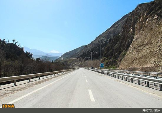 عبور از آزاد راه تهران – شمال از فردا +عکس