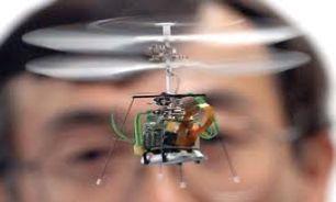 پرواز ربات های پرنده در آسمان دانشگاه صنعتی امیرکبیر