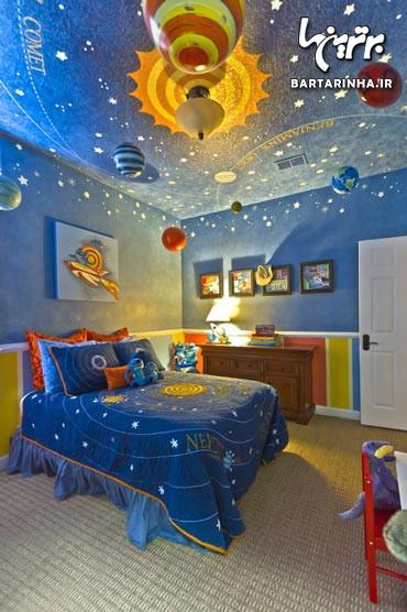 به اتاق کودک خود هویت دهید