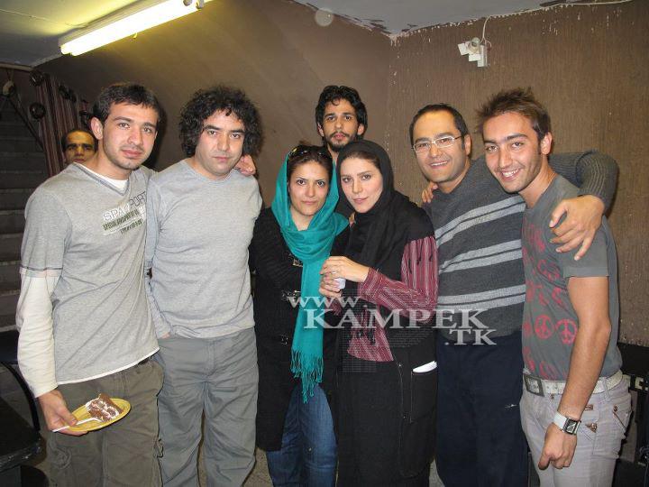 جدید ترین عکس هیا سحر دولتشاهی و همسرش رامبد جوان