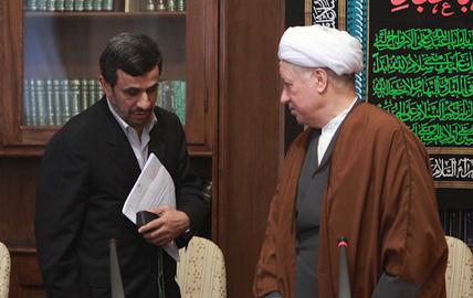 تبریک نوروزی احمدینژاد به هاشمی رفسنجانی تکذیب شد