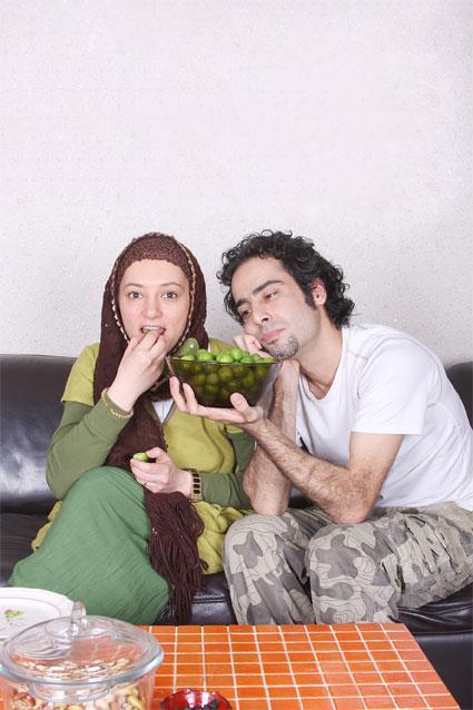 عکس جدید و کمیاب سحر ولدبیگی و همسرش نیما فلاح